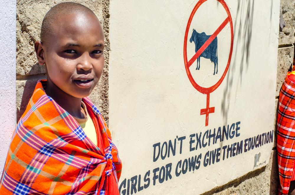Maasai school in Kenya
