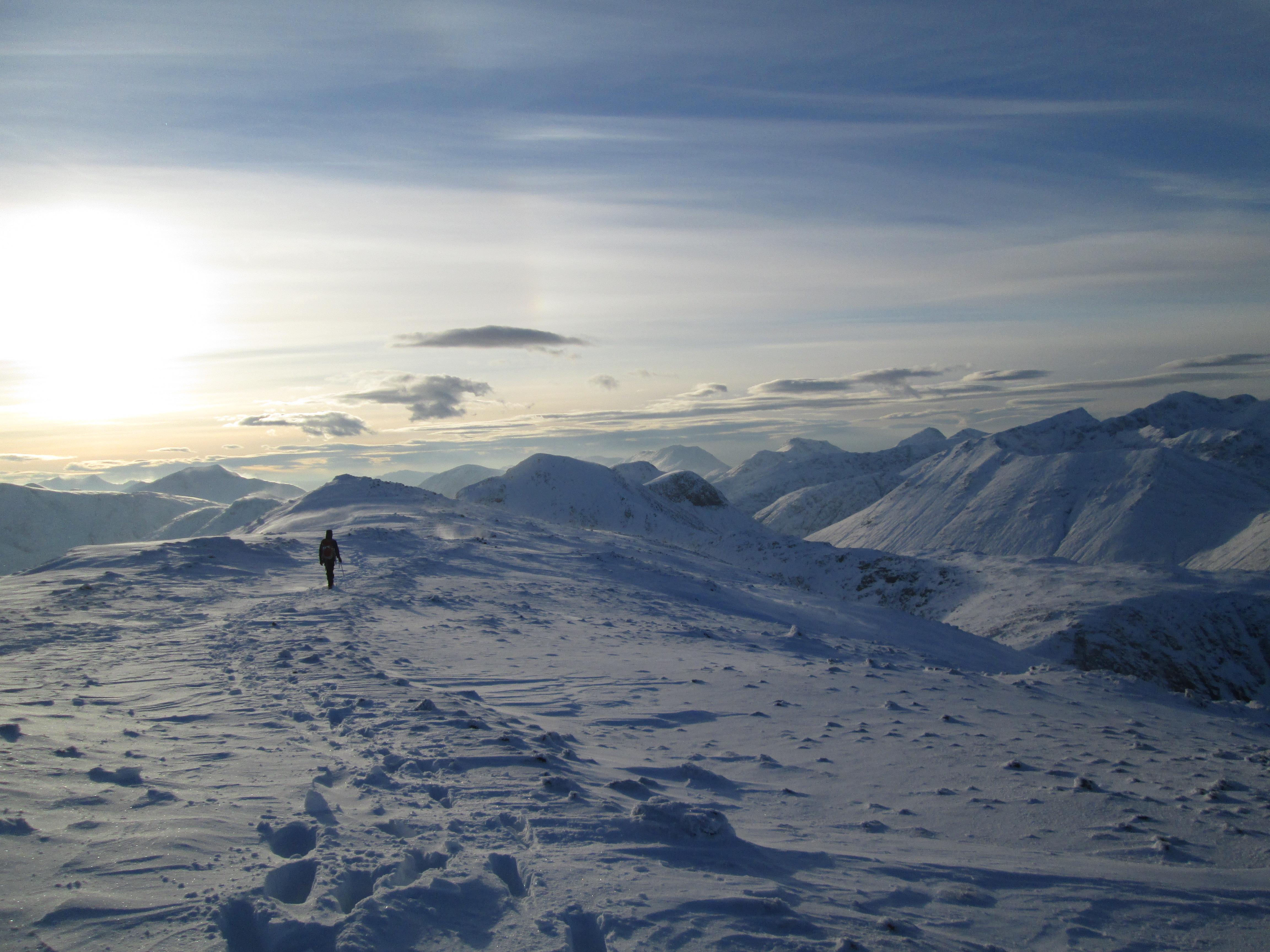 Ridge walk after curved Legdes
