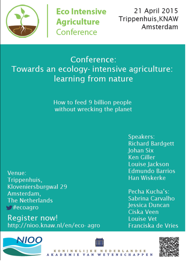 Towards eco-intensive agriculture
