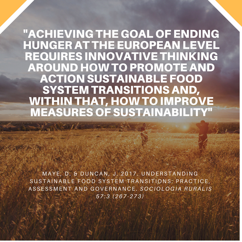 SoRo Sustainable Food Transitions